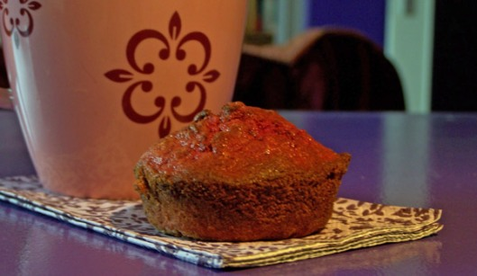 Rote Bete-Muffin