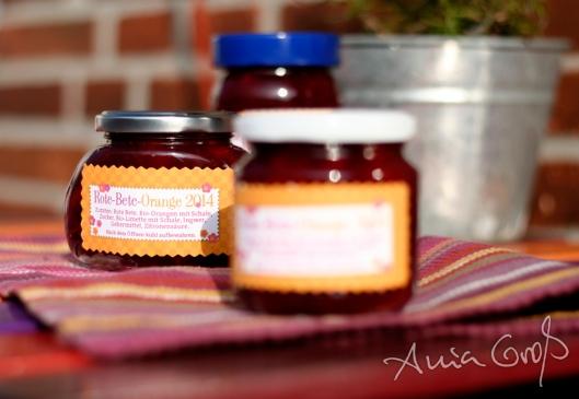 Rote-Bete-Orangen-Marmelade