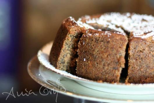 Saftiger Earl-Grey-Bete-Walnuss-Kuchen